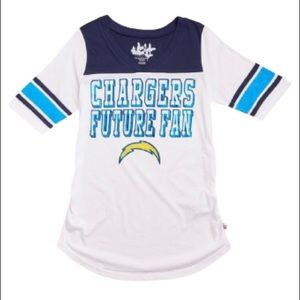 {bnwt} 🏈Chargers NFL Maternity Tee🏈